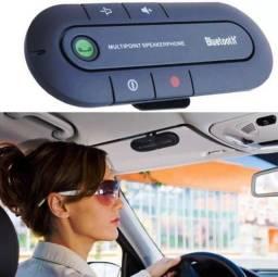 Título do anúncio: Viva voz bluetooth - Faça e receba ligações sem tirar as mãos do volante