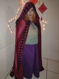 Título do anúncio: Capa Bordô Halloween wicca