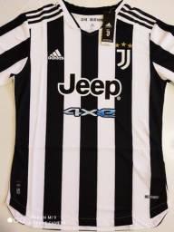 Camisa Juventus Home Player Adidas 21/22 - Tamanho: M