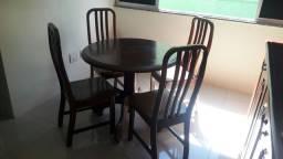 jogo de cadeira e mesa de angelin