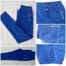 Calça feminina azul número 40