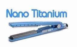Nova + Brinde- Chapinha Prancha Profissional Nano Titanium