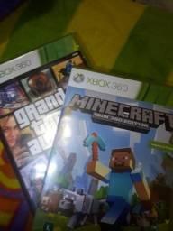 2 jogos originais para Xbox 360