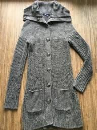 Sweater Gap Tamano XS cor cinza pouco uso
