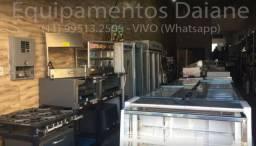 Loja / Empresa de equipamentos industriais, balcao,coifa,maquina de frango,geladeira
