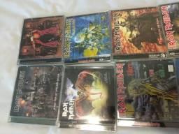 CD Iron Maiden originais