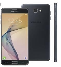 Vendo ou troco Samsung j7 prime 32gb tela 5.5 leitor biométrico celular impecável