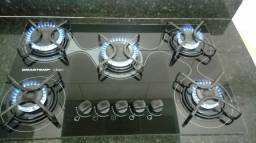 Cooktop Brastemp Clean 5 bocas