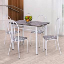 Mesa com tampo de mármore super barato