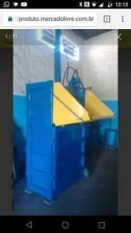 Prensa para reciclagem para papel papelao plástico