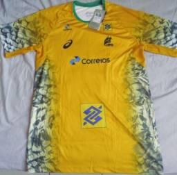 Camisa Asics Brasil Handebol