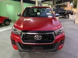 Hilux SRX 2.8 Vermelha Top 2020 0KM Pronta Entrega - 2019