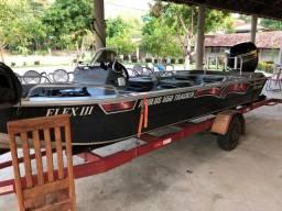 Vendo Barco com motor e carreta - 2018