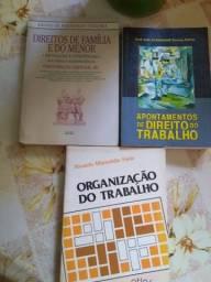 3 livros sobre Direito