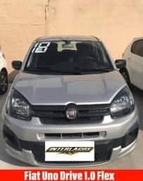 Fiat Uno Drive 1.0 Flex 5P Mec - 2018