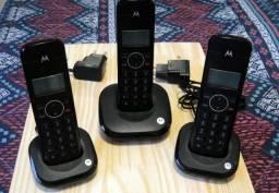 Telefone digital sem fio Motorola