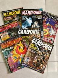 Revista Super Game Power - Diversos Volumes