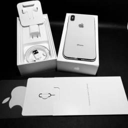 Oferta Apple IPhone X 64gb Silver e Black, Lacrado, 1 ano Garantia