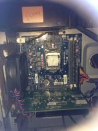 Vendo placa-mãe+processador