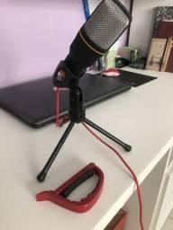 Microfone + capotraste