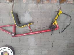 Usado, Quadro de bicicleta comprar usado  Novo Hamburgo