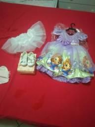 Usado, Fantasia princesa Sofia comprar usado  Santo André