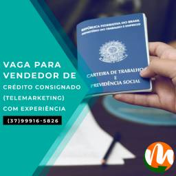 Vendedor de Crédito Consignado - Telemarketing