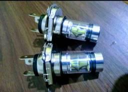 Duas Lâmpadas de led H4 comprar usado  Brasilia