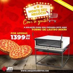 Forno pra pizza de lastro - Jm Equipamentos
