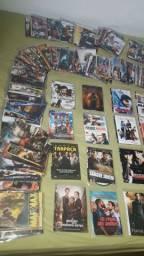 Lote de 195 DVDs de filmes