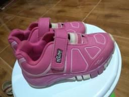 Sapato com pisca