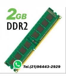 Memória DDR2 2GB 667/800Mhz