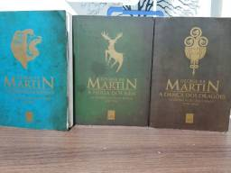 Livros game of thrones edição pocket de colecionador(2,3 e 5)