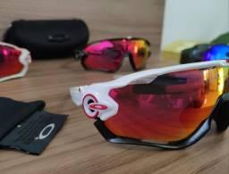 Óculos de ciclismo 5 lentes estilo Oakley JawBreaker Novo