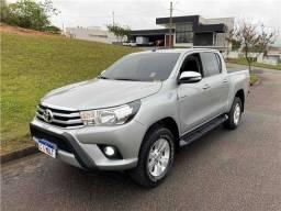 Título do anúncio: Toyota Hilux 2017 2.7 srv 4x2 cd 16v flex 4p automático