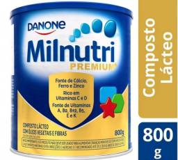 Milnutri Premium Danone Composto Lácteo 800g Fonte de Energia