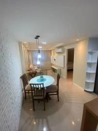 Título do anúncio: LF-Apartamento/flat mobiliado Boa Viagem,novo,40m²,porcelanato,lindo