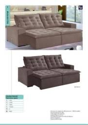 Sofa Retratil reclinavel de alta qualidade a pronta entrega