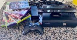XBOX SLIM 360 ( COM JOGOS )