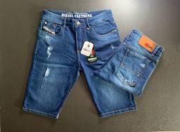 Bermudas jeans em diversas marcas