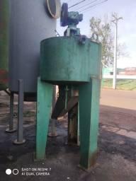 Título do anúncio: Tanque inox encamisado em aço carbono, volume 500 litros