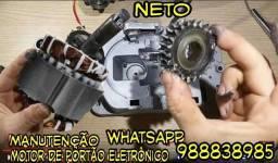 Título do anúncio: Motor de portão  ; Eletrônico  Manutenção