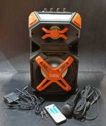 Caixa De Som OEX 120W com Microfone