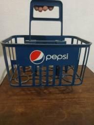 Caixa transporte da Pepsi