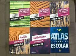 Livros didáticos de Geografia CONECTE