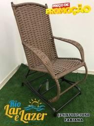 Título do anúncio: Cadeira de balanço com molas