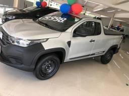 Fiat Strada Cabine Plus Endurance 2021 prata
