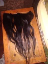 Faixa mega hair cabelo humano
