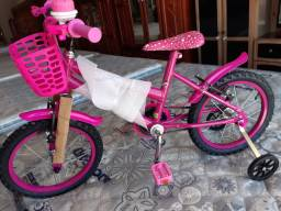 Bicicleta aro 16 masc e feminina