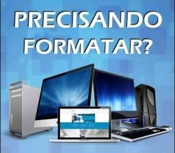 Título do anúncio: *Formatação - Formato seu Computador ou Notebook*